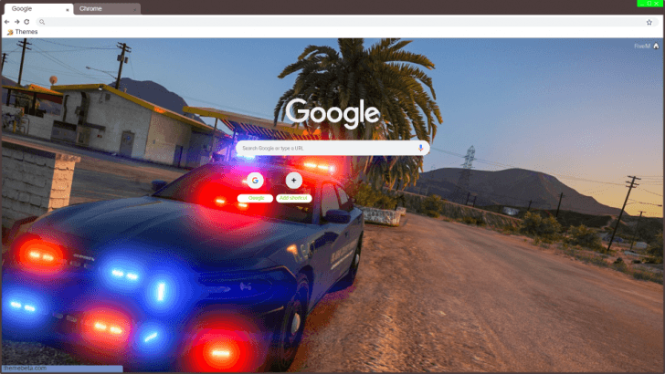 police fivem Chrome Theme - ThemeBeta