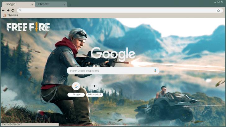 GARENA FREE FIRE Chrome Theme - ThemeBeta