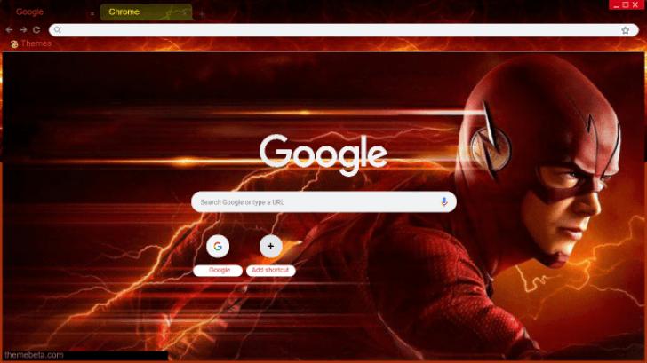 The Flash Season 6 Chrome Theme - ThemeBeta