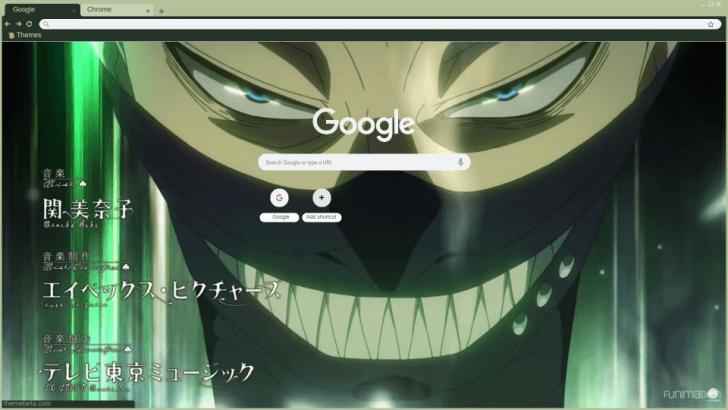Zora Ideale The Most Badass Black Clover Character Chrome Theme Themebeta