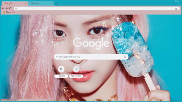 Itzy Icy Download Itzy Icy Ryujin Chrome Theme Themebeta