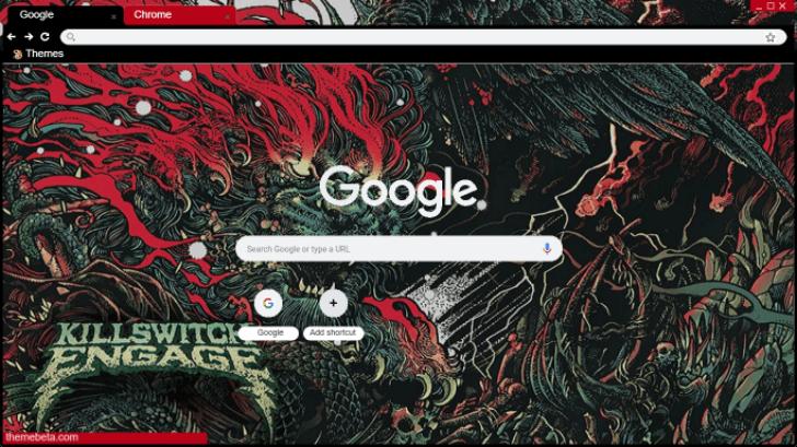 Killswitch Engage - Atonement (Theme) Chrome Theme - ThemeBeta