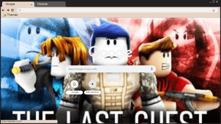 The Last Guest Wallpaper Chrome Theme Themebeta