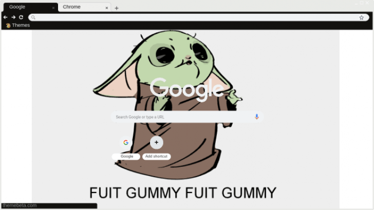 I Want Fuit Gummy Baby Yoda Meme Chrome Theme Themebeta Becomes massive trend thanks to. i want fuit gummy baby yoda meme