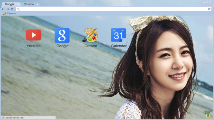 AOA: Mina (HOT Summer Photobook) Chrome Theme - ThemeBeta: www.themebeta.com/chrome/theme/90077