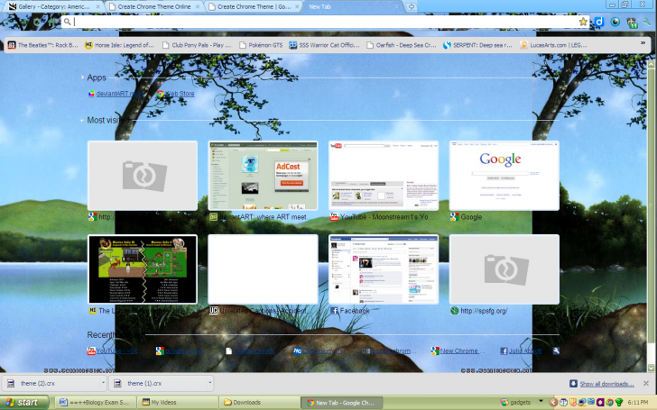 Warrior Cats Chrome Theme - ThemeBeta