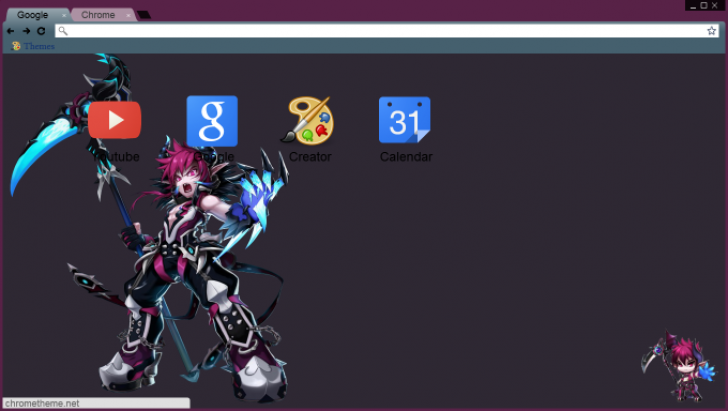 Dio Asmodeus - Grand Chase Chrome Theme - ThemeBeta