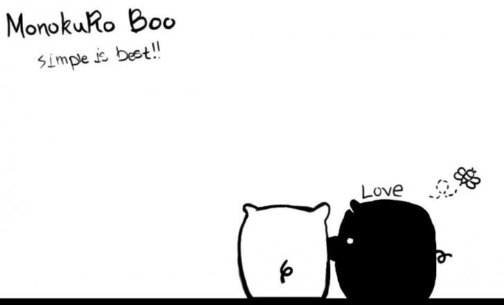 Monokuro Boo Love Chrome Theme...