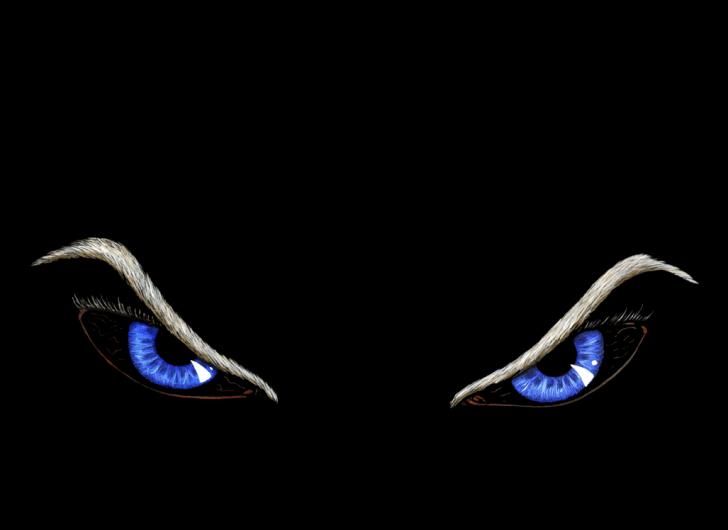 Sinister eyes Chrome Theme - ThemeBeta