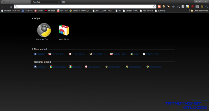 Roblox Obc Theme Chrome Theme Themebeta